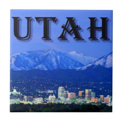 Utah, Salt Lake City Tiles