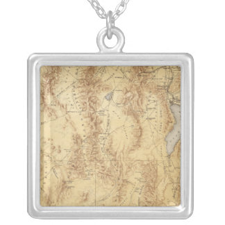 Utah Silver Plated Necklace