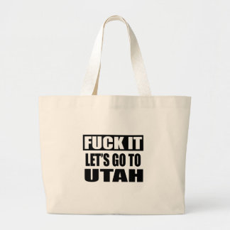 UTAH STATE DESIGNS JUMBO TOTE BAG