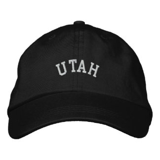 Utah State Embroidered Embroidered Baseball Caps
