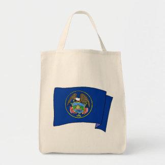 Utah State Flag Canvas Bag