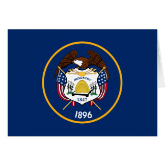 Utah State Flag Note Card