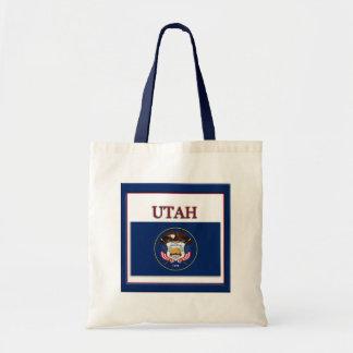 Utah State Flag Design Budget Canvas Bag