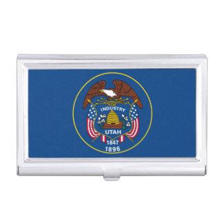 Utah State Flag Design Decor Business Card Cases