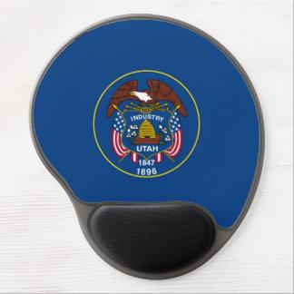Utah State Flag Design Gel Mouse Pad