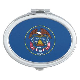 Utah State Flag Design Makeup Mirror