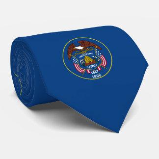 Utah State Flag Design Tie
