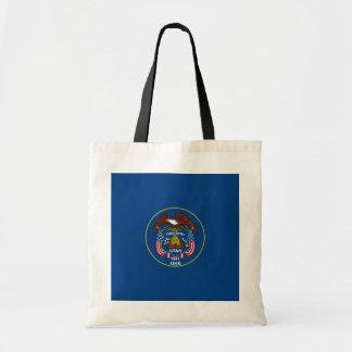Utah State Flag Design Budget Tote Bag