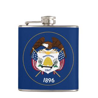 Utah State Flag Hip Flask