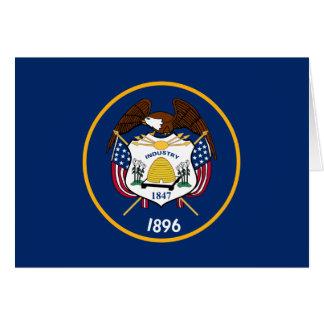 Utah State Flag Note Card