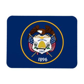 Utah State Flag Rectangular Photo Magnet