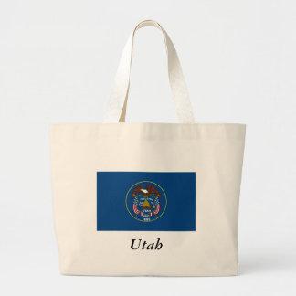 Utah State Flag Jumbo Tote Bag