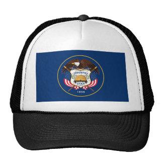 utah state flag united america republic symbol cap