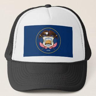utah state flag united america republic symbol trucker hat
