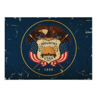 Utah State Flag VINTAGE Card