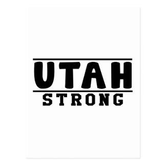 Utah Strong Designs Postcard