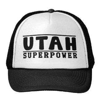 Utah Superpower Designs Mesh Hats