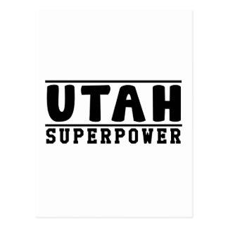 Utah Superpower Designs Postcard
