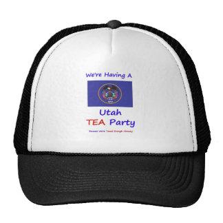 Utah TEA Party - We re Taxed Enough Already Mesh Hats