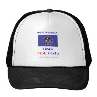 Utah TEA Party - We're Taxed Enough Already! Cap