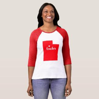 Utah Teacher Tshirt (Red)