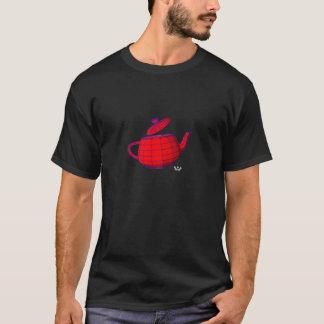 Utah Teapot with white gingerhammer logo T-Shirt