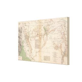 Utah Terr & Mil Dept Canvas Print