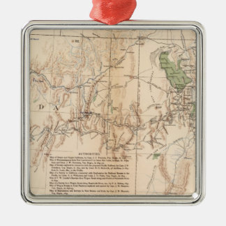 Utah Terr & Mil Dept Christmas Ornament