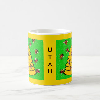 Utah The Beehive State Coffee Mug