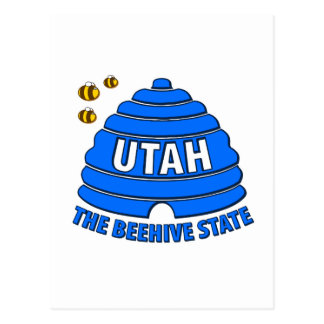 Utah: The Beehive State Post Card