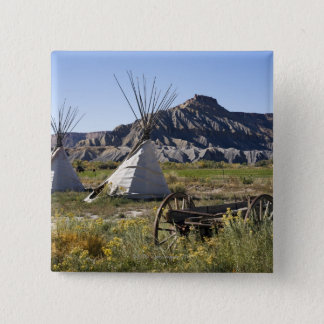 Utah, USA 15 Cm Square Badge