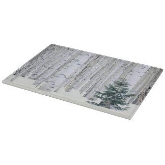 UTAH. USA. Aspen (Populus tremuloides) & Douglas Cutting Board