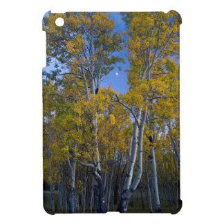 Utah. USA. Aspen Trees And Moon At Dusk iPad Mini Case