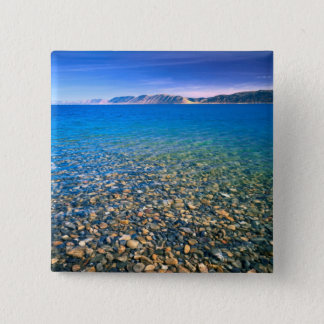 UTAH. USA. Clear water of Bear Lake reveals 15 Cm Square Badge