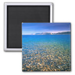 UTAH. USA. Clear water of Bear Lake reveals Square Magnet