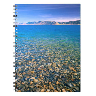 UTAH. USA. Clear water of Bear Lake reveals Notebooks