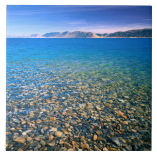 UTAH. USA. Clear water of Bear Lake reveals Tile