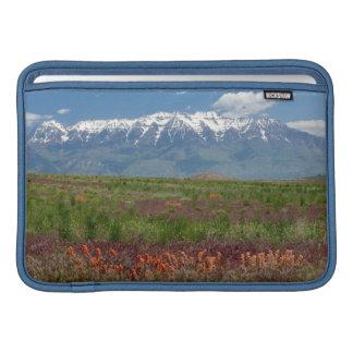 Utah, USA. Mt. Timpanogos Rises Above Sleeve For MacBook Air