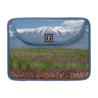 Utah, USA. Mt. Timpanogos Rises Above Sleeve For MacBook Pro
