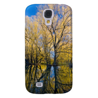 Utah. USA. Peachleaf Willow Trees Galaxy S4 Case