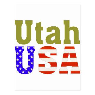 Utah USA! Postcard