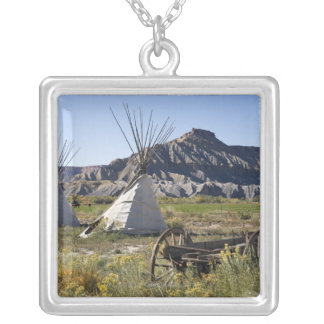 Utah, USA Silver Plated Necklace