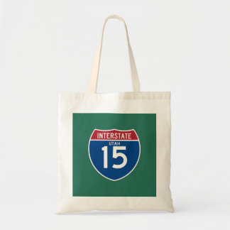 Utah UT I-15 Interstate Highway Shield -