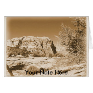 Utah vintage card