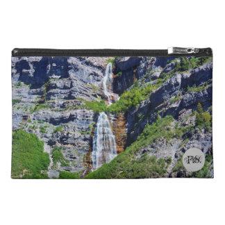 Utah Waterfall #1 - Monogram Travel Accessory Bag