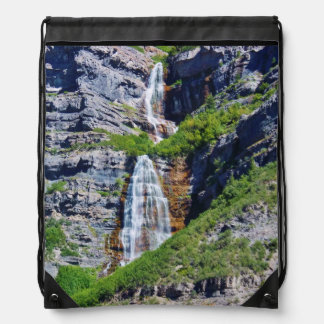 Utah Waterfall #1a- Drawstring Bag