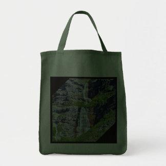 Utah Waterfall #1a - Grocery Bag
