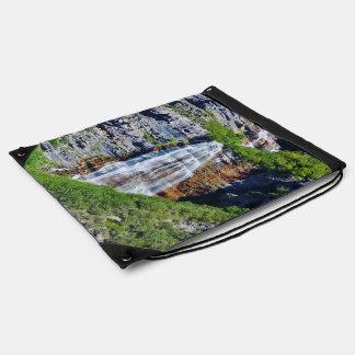 Utah Waterfall #1b- Drawstring Bag