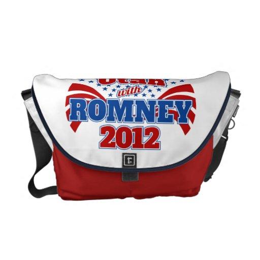 Utah with Romney 2012 Messenger Bag
