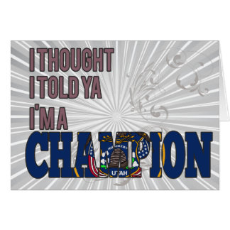 Utahan and a Champion Cards
